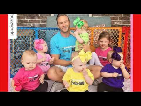 Watch Two Of The Busby Quintuplets Leave With Mom And Dad