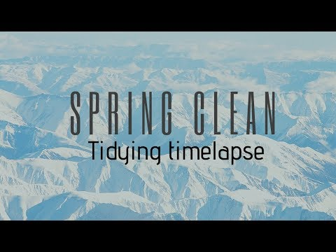 TIDY WITH ME! Spring clean | Ginger Chromia
