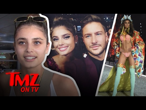 Model Taylor Hill Says She Was Discovered On A Horse Ranch | TMZ TV