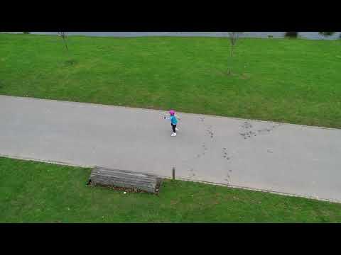 Isabelle Skating - DJI Phantom 4 Pro Active Track Profile