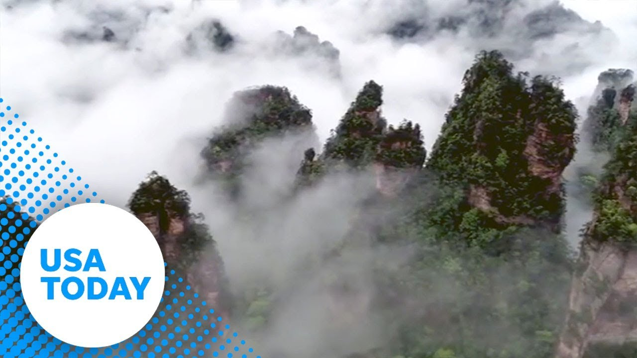 Escape stress with drone video of majestic mountains and clouds | USA TODAY