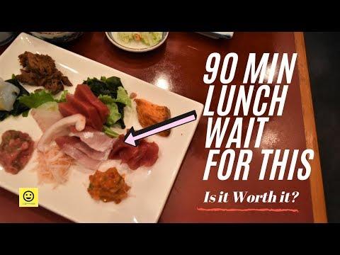 The Most Popular SASHIMI In LA! | Sushi Gen Restaurant
