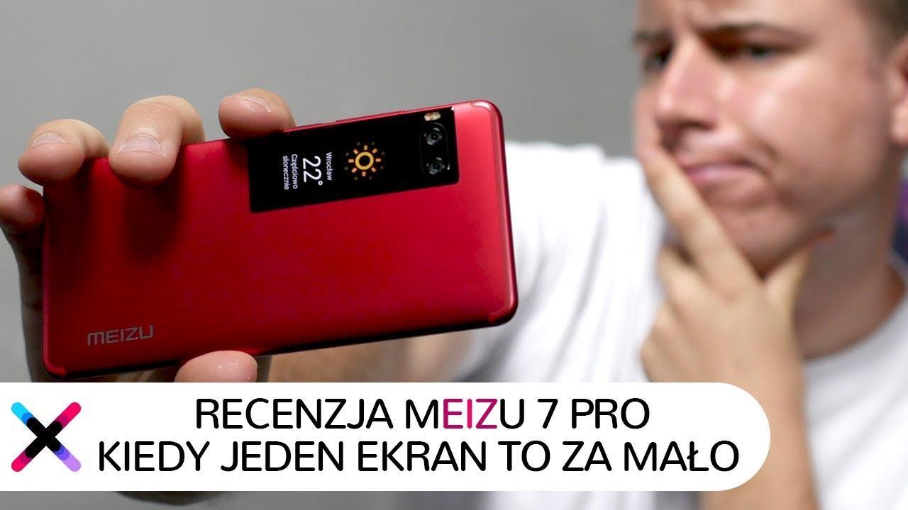 Meizu Pro 7 Smartfon Z Dwoma Ekranami Youtube