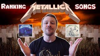 Metallica Songs Ranked