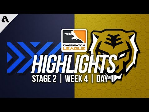 New York Excelsior vs Seoul Dynasty | Overwatch League Highlights OWL Stage 2 Week 4 Day 1