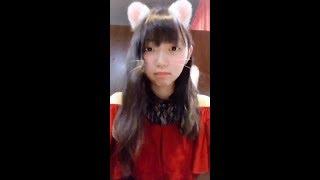 20181008 山登梨花ちゃん(原宿乙女)twitter動画.