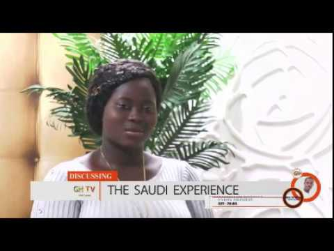 TALK TO GH TV HOLLAND ( STORY OF A YOUNG LADY WHO TRAVELED TO SAUDI ARABIA )