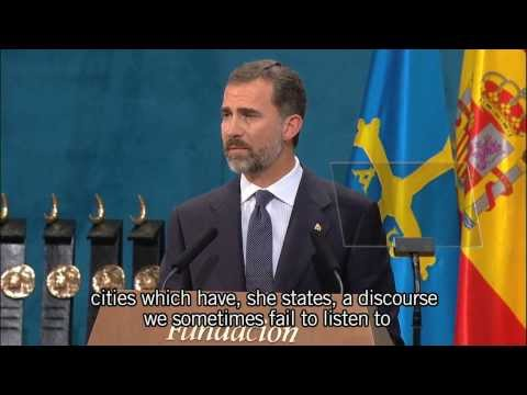 Discurso de S.A.R. el Príncipe de Asturias (2013) / Speech by HRH the Prince of Asturias (2013)