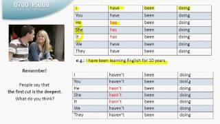 Английски видео урок - граматика Intermediate
