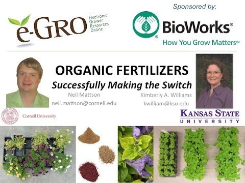 Organic Fertilizers: Successfully Making the Switch