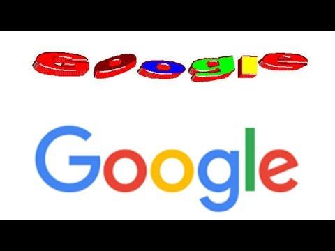 Google Logo History (1997-2018)