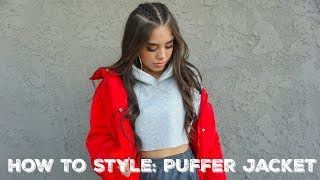How To Style Series: PUFFER JACKET ♡ Guemz