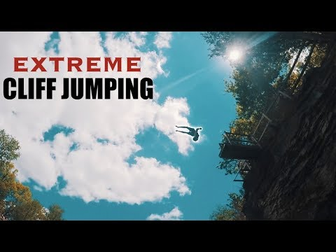 EXTREME CLIFF JUMPING!