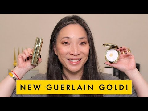 GUERLAIN Parure Gold Radiance Foundation and Powder Review