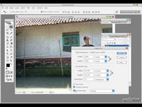 Cara Meningkatkan Kwalitas Resolusi Foto (PhotoShop)
