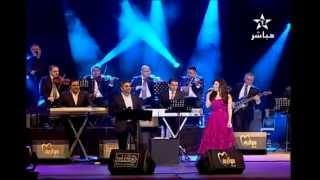 فضل شاكر ويارا يتألقان في موازين 2012 وأغنية خدني معك