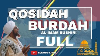 Download Qosidah Burdah Imam Al Bushiri Full 1-10 fasal | Majelis Rasulullah SAW