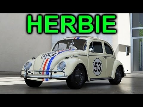 forza 6: Multiplayer fun #1: Herbie the love bug beetle & lucky prize spin!