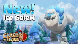 ICE GOLEM! New TH11 Troop (Clash of Clans)