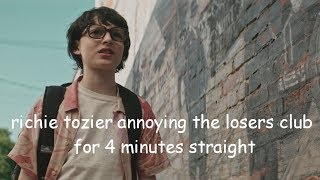richie annoying the  losers club for 4 minutes straight