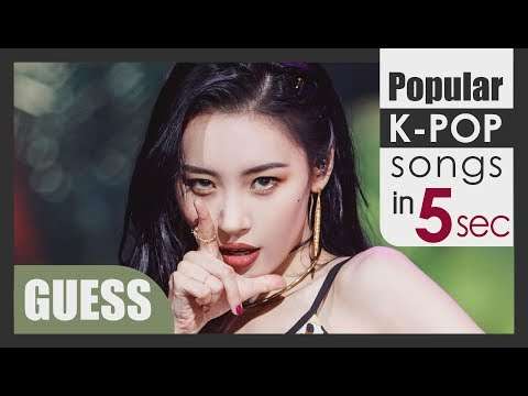 GUESS POPULAR KPOP SONGS IN 5 SECOND