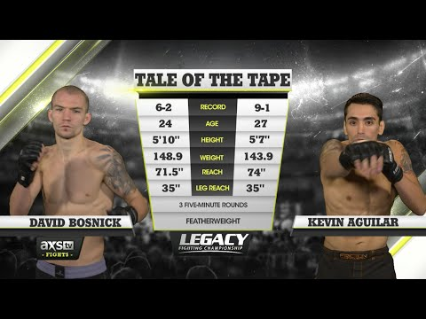 Fight of the Week: Kevin Aguilar Punches His Ticket to a Title Shot at Legacy 49