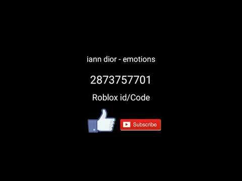 Roblox Meme Id Codes Iann Dior Emotions Roblox Id Code Youtube