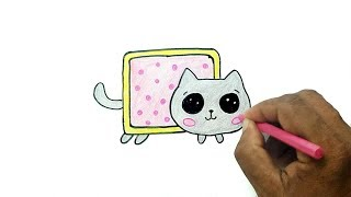 How to Draw Nyan Cat