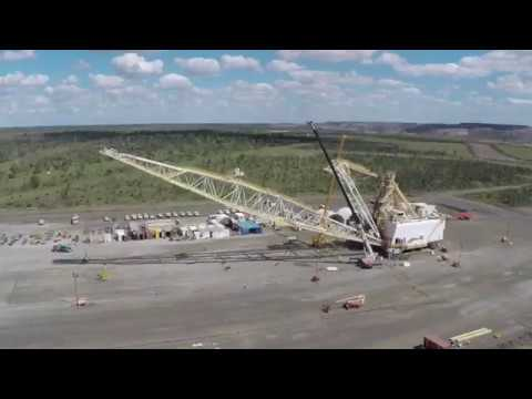 Rebuilding Dragline 09 At Peak Downs Mine