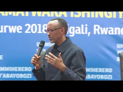 Opening of Local Government Retreat   Kigali, 28 March 2018