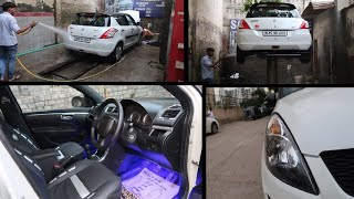 My Car is Ready | Modified Maruti Swift | Swift Headlamps Changed | Best Lighting For Swift | C6 Led