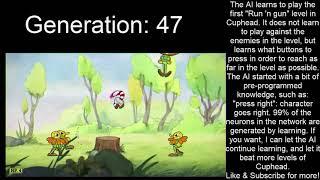 AI learns to play Cuphead