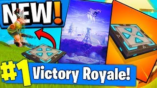 *NEW* BOUNCER PAD SHOPPING CART! - BOUNCE PAD MYTHBUSTERS In Fortnite Battle Royale!!