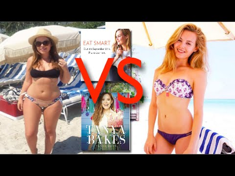 Tanya Burr VS Niomi Smart Cookbook down