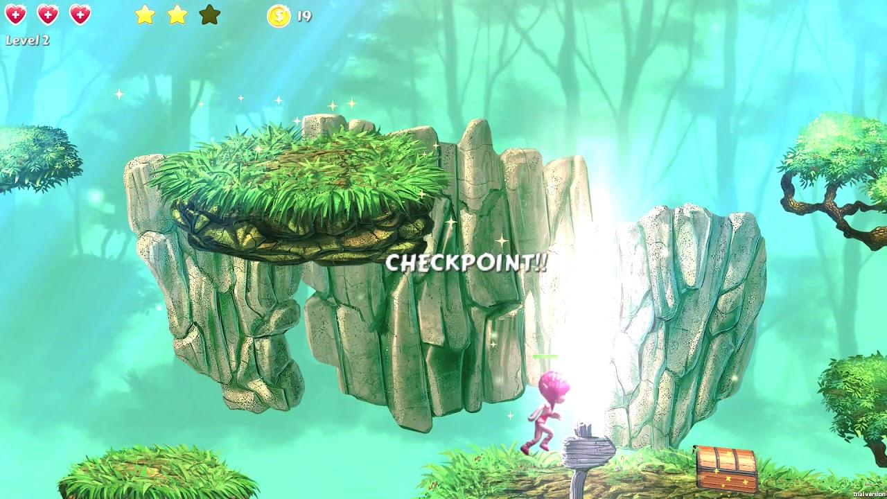 The Enchanted Forest PS4 Homebrew Game Port PKG by RetroGamer74