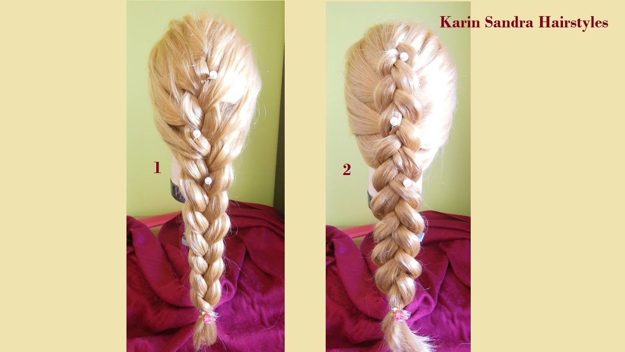 How To Do French Braid  How To Do Dutch Braid  Easy Hairstyle Tutorial  With Braids