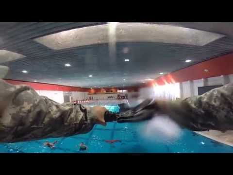 University of New Mexico Army ROTC Combat Water Survival Training Fall 2014