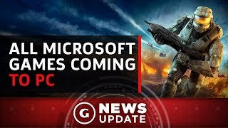 All Future Microsoft Games Are Coming to Both Xbox One and PC - GS News Update