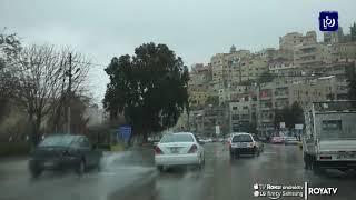 أمانة عمان تعلن حالة الطوارئ الخفيفة للتعامل مع حالة الطقس (14/10/2019)