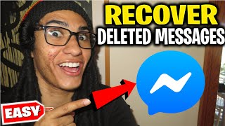 How to RECOVER DELETED MESSAGES ON MESSENGER - Recover Deleted Facebook Messages iPhone/Android 2020