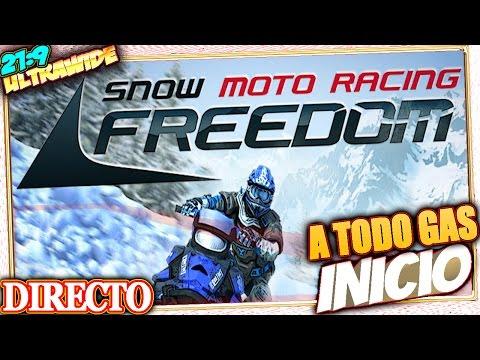 A TODO GAS en SNOW MOTO RACING FREEDOM #inicio