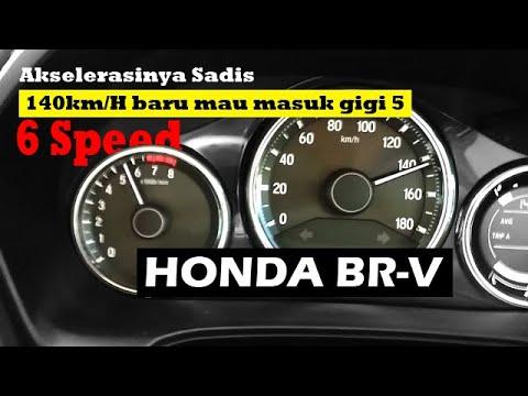 Mencoba Akselerasi HONDA BR-V Manual