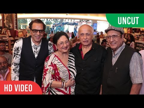 UNCUT - The Legends of Bollywood Book Launch | Dharmendra, Tabassum, Ranjeet, Zarina Wahab, Prem