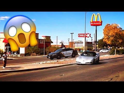 Corvette Crashes And El Paso Cops Show Up At Spotted El Paso Car Meet!!! [November 2018]