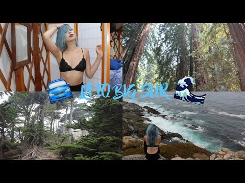 Vlog | LOS ANGELES TO BIG SUR ROAD TRIP