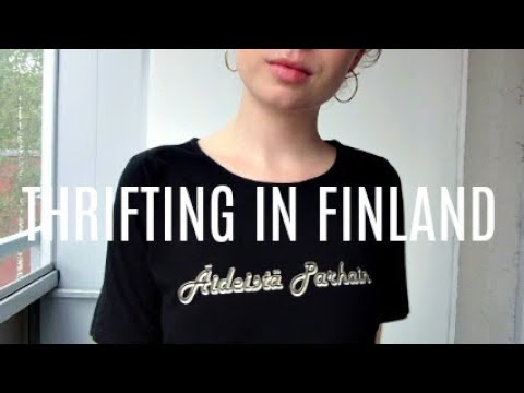 Come Thrifing In Finland, Fall / Winter Try On Haul