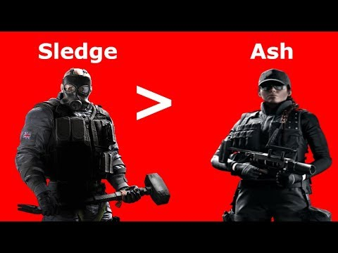 Sledge Rushing IS better than Ash Rushing (MEME-Tage)