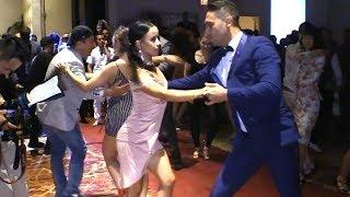 Melany Mercedes & Jorge Martinez social salsa dancing @ LVS-SC'18!