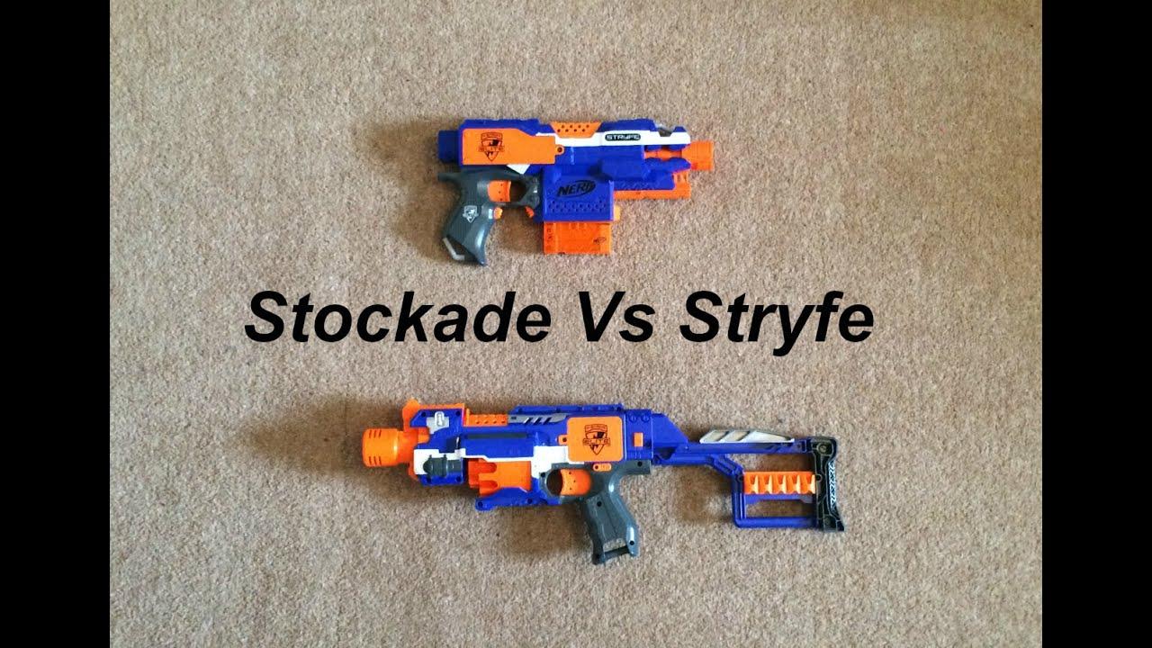 Outback Nerf: Nerf Elite Stockade Review (15m Aus grey trigger)