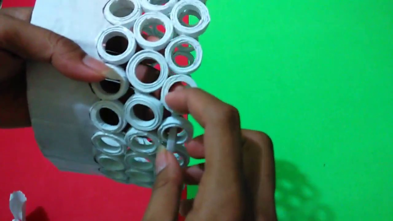 Cara Membuat Keranjang Dari Kertas Hvs Youtube